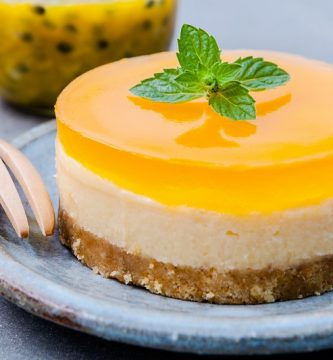 cheesecake de maracuya al horno light